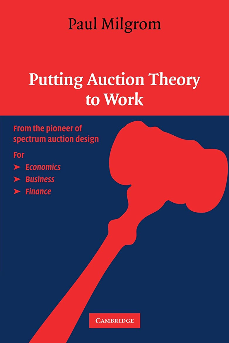 タンク浸すチェリーPutting Auction Theory to Work (Churchill Lectures in Economics)
