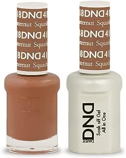 DND Soak Off Gel Polish Dual Matching Color Set 418, Butternut Squash