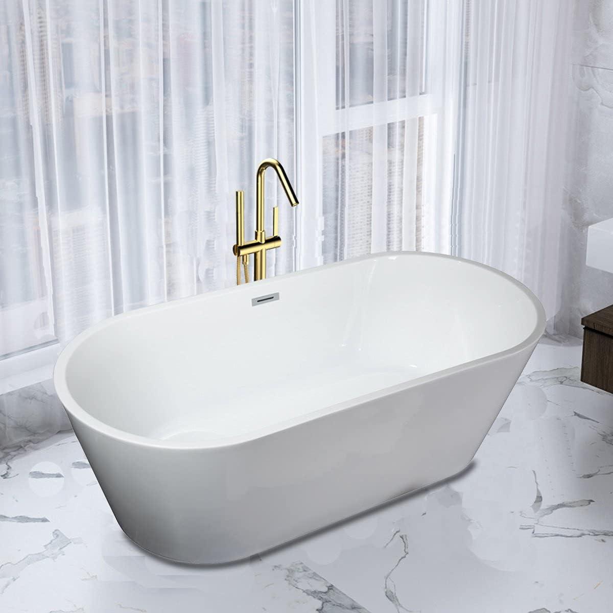 LOTTARE KZ-66028319 Max 90% OFF Bathtub Freestanding Cheap sale