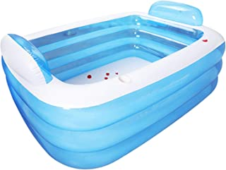 Inflatable Bathtub Family Rectangular Inflatable Pool Foldable Adult Thickened PVC Portable Soaking Tub Various Specificat...