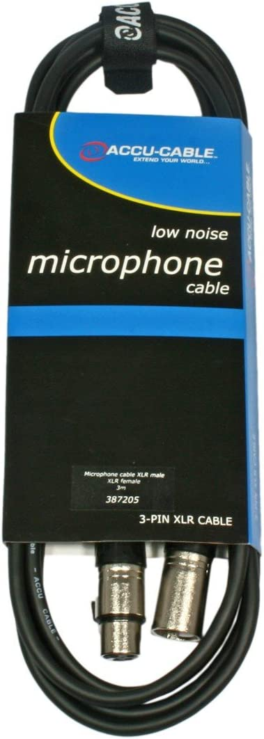 Accu Cable AC-XFXM/3 - Cable para micrófono FX XLR