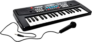 Toyshine 37 Key Piano with DC Power Mode, Microphone and Recoring