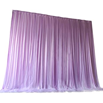 Atongham Colorful Tulle Chiffon Backdrop for Bridal Shower Wedding Ceremony Backdrops Curtains Newborn Baby Shower Backdrop Photo Booth Background Photography