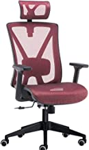 Office Chairs Office Chair with Arms,Ergonomic Racing Chair,High Curved Back Home Swivel Chair,Executive Computer Chair wi...
