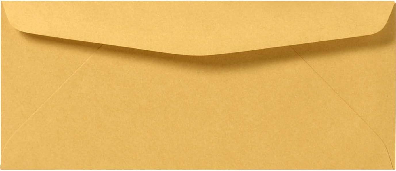 #11 Regular Envelopes 4 1 2 Max 90% OFF x 10 Sales for sale 24lb. Kraft 3 8 - Brown 250