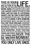AllPosters This is Your Life Motivational Poster 47 x 32in