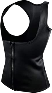 Balalei Plus Size Neoprene Sweat Sauna Hot Body Shapers Vest Waist Trainer Slimming Vest Shaperwear Weight Loss Waist Corset