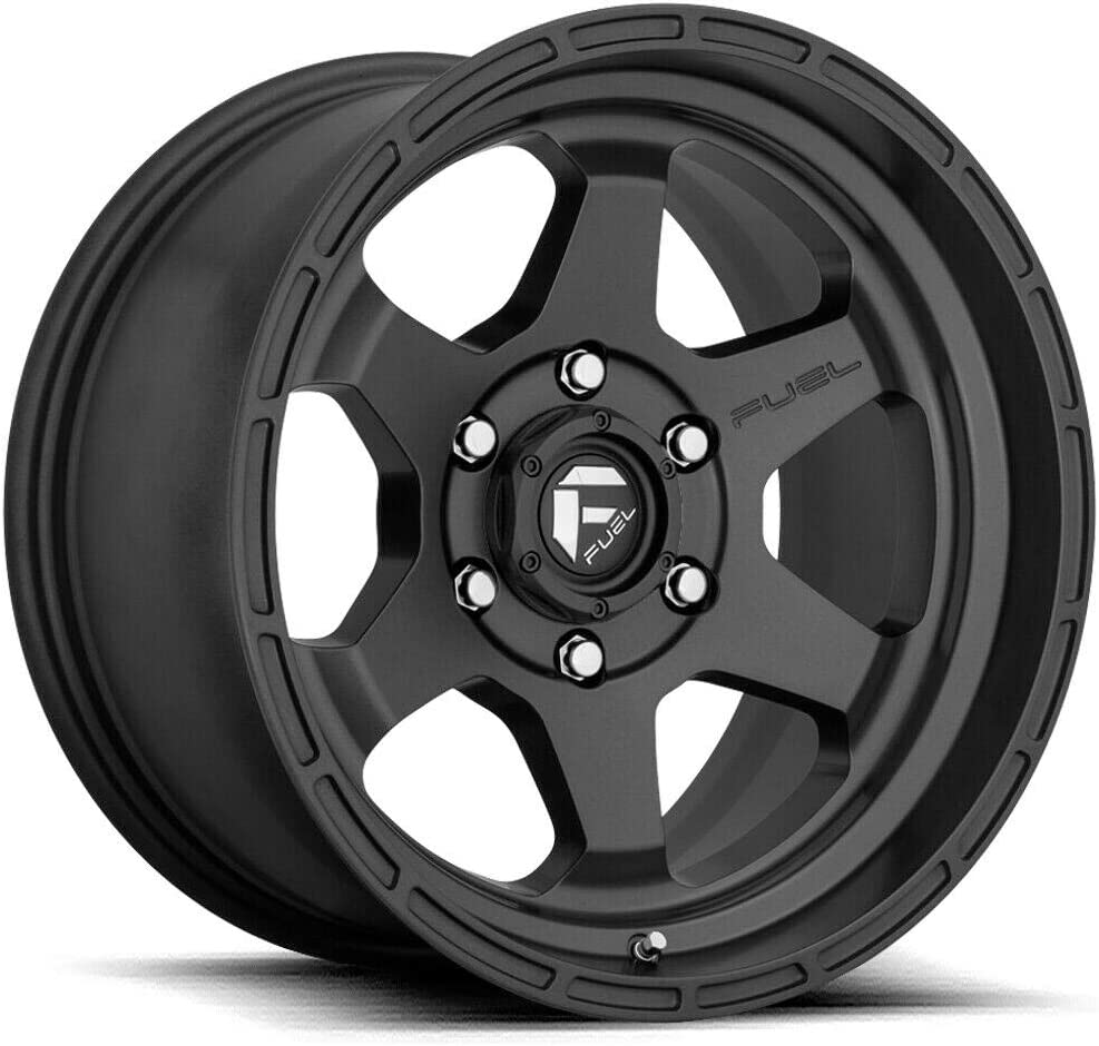Fuel free shipping Offroad D664 SHOK BLACK Wheel TPMS with and Compati Nashville-Davidson Mall Painted