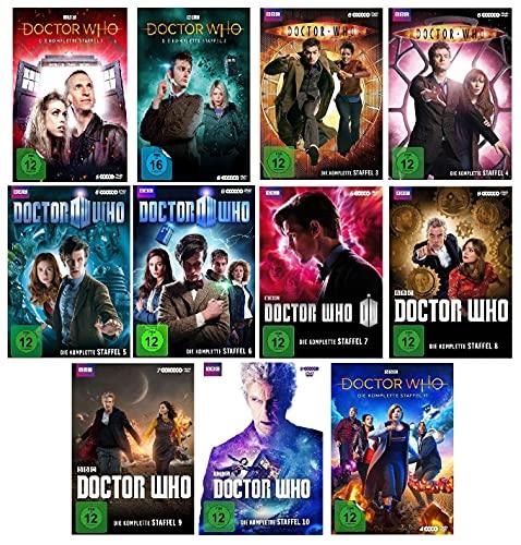 Doctor Who - Die komplette Staffel 1-11 (1+2+3+4+5+6+7+8+9+10+11) im Set - Deutsche Originalware [63 DVDs]