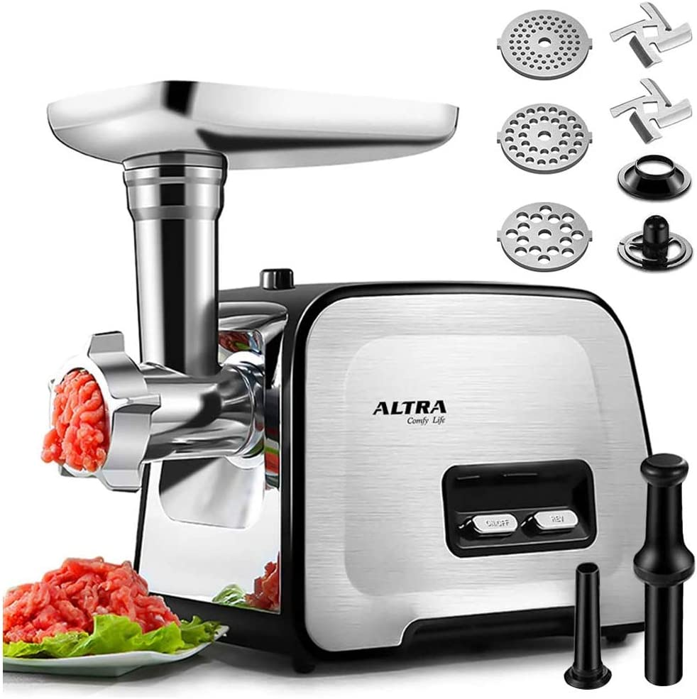 ALTRA Electric Meat Grinder, 3-IN-1