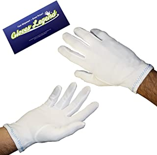 Best white nylon stretch gloves Reviews