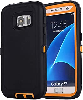 Aimoll-88 Galaxy S7 Case, [Heavy Duty] [with Built-in Screen Protector] [Belt Clip] Full Body Tough 4 in 1 Rugged Shockpro...