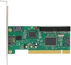 SATA II ESATA-RAID-Karte mit Laufwerks-CD Ccylez PCIe SATA-Adapterkarte 1 interne SATA-Schnittstelle und 1 Externe eSATA- und 1 interne ATA133-Schnittstelle PCI-E zu ATA133