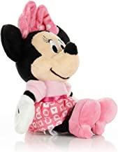 KIDS PREFERRED Disney Baby Minnie Mouse Stuffed Animal Plush Toy Mini Jingler, 6.5 inches