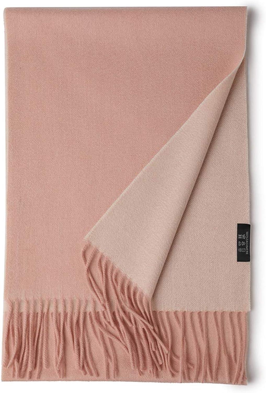 Women'S Soft Cashmere Shawl Scarf, Lightweight Winter Fashion Warm Scarf