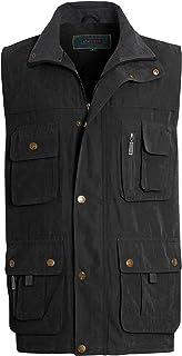 shelikes Men's Gilet Safari Hiking Outdoor Waistcoat Jacket Sleeveless Coat
