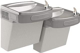 Elkay EZSTL8LC Wall Mount Bi-Level ADA Versatile Cooler, Non-Filtered, 8 GPH, Light Gray Granite
