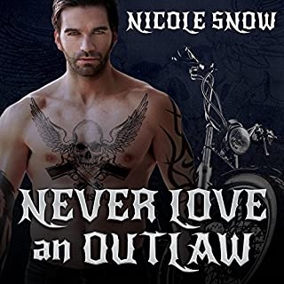 Never Love an Outlaw cover art