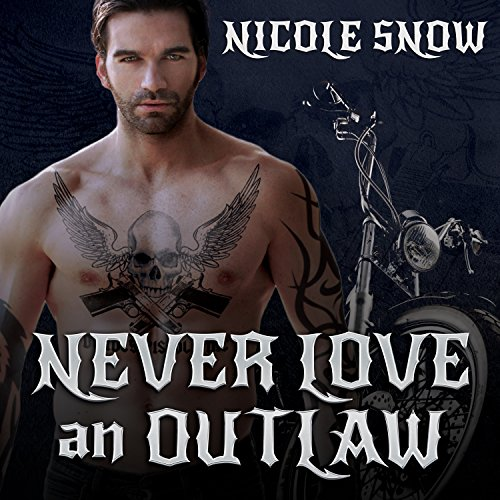 Never Love an Outlaw audiobook cover art