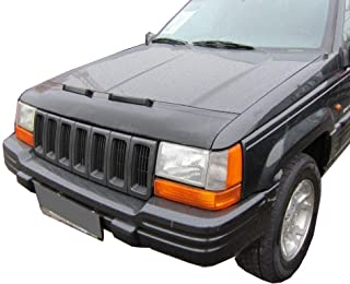 HOOD BRA Front End Nose Mask for Jeep Grand Cherokee 1993-1998 Bonnet Bra STONEGUARD PROTECTOR TUNING