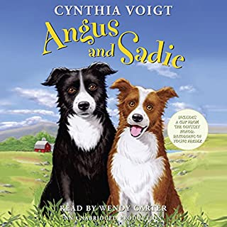 Angus and Sadie audiobook cover art