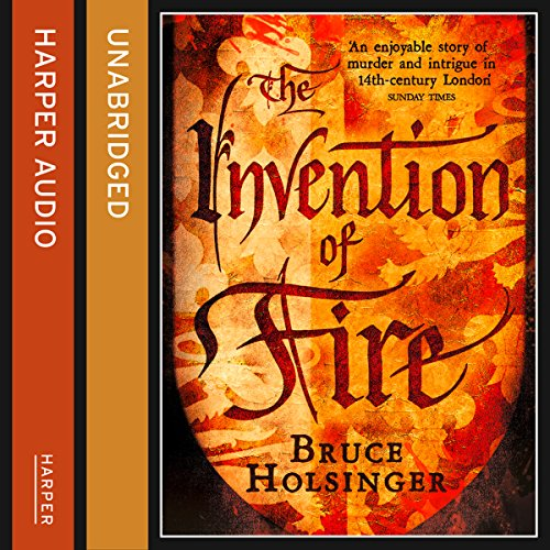 The Invention of Fire audiobook cover art