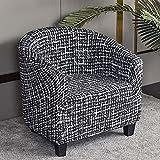 OOFAYWFD Sesselbezug sesselhussen clubsessel husse für clubsessel elastisch Sessel bezug waschbar Sesselüberwurf clubsesselhusse (Color : R, Size : 2pcs)