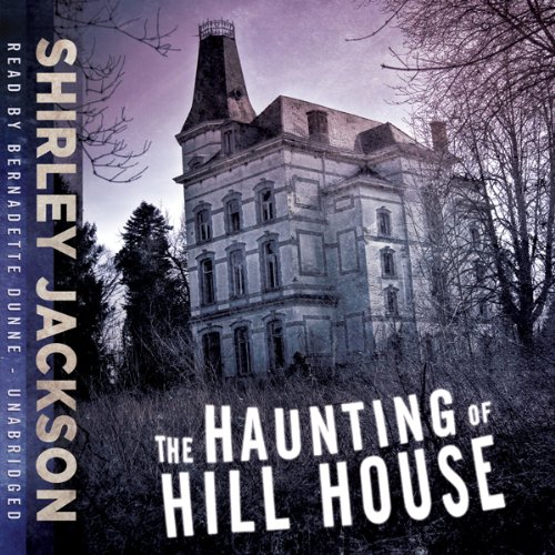 The Haunting of Hill House audiobook cover art