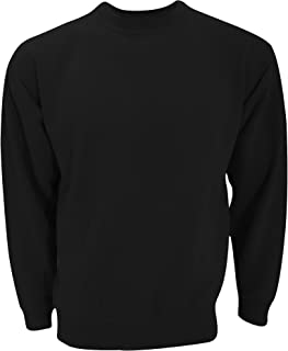 Ultimate Clothing Collection UCC 50/50 Unisex Plain Set-in Sweatshirt Top