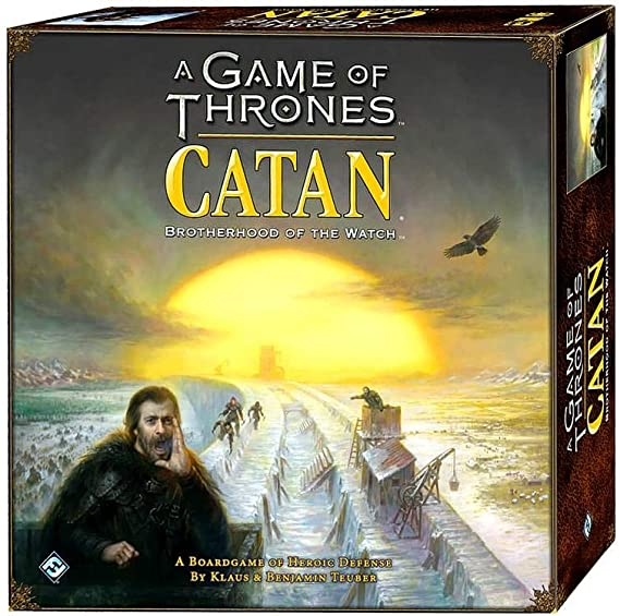 A Game of Thrones CATAN Board Game