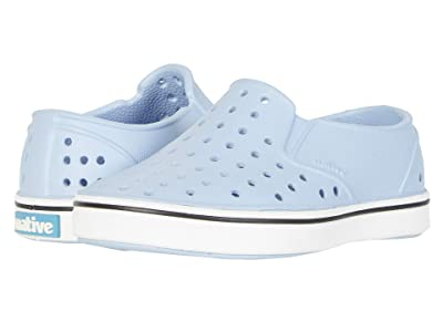 Native Kids Shoes Miles Slip-On (Toddler/Little Kid) (Washed Blue/Shell White) Kids Shoes