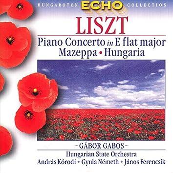 Liszt: Piano Concerto No. 1 / Mazeppa / Hungaria