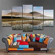 LIVELJ XXl,Giclee Office 5 piece canvas Prints art work Panels Modern Set Gallery HD Pictures Wall Decoration Room Living/wetlands/Framed