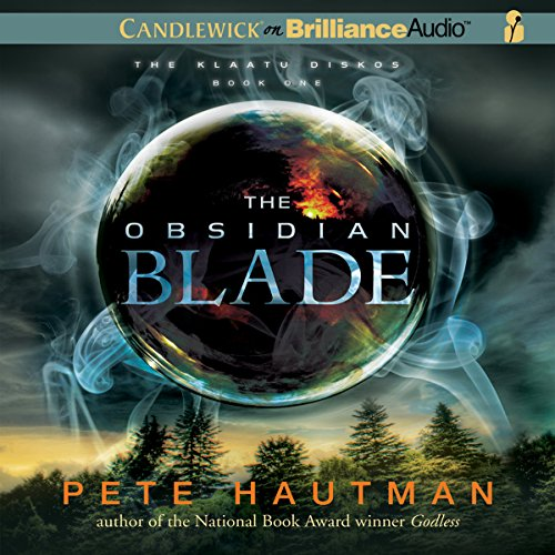 The Obsidian Blade audiobook cover art