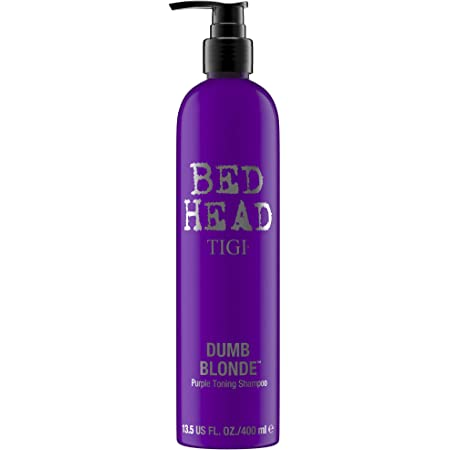 TIGI Bed Head Dumb Blonde Purple Toning Shampoo, con Pigmenti Viola, per Capelli Biondi