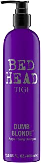 TIGI Bed Head Dumb Blonde Purple Toning Shampoo, 13.5 Ounce