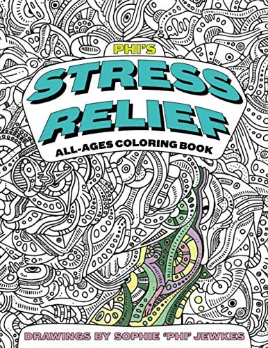 Phi s Stress Relief All Ages Coloring Book product image