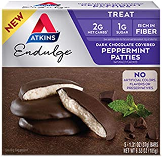 Atkins Endulge Dark Chocolate Peppermint Patties