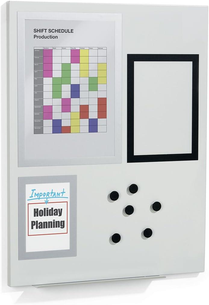 Durable 500110 Selling Duraframe Magnetic Information Metal Displ Soldering Board