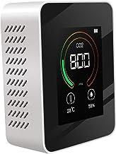#N/A/a Detector Multifuncional de Calidad del Aire Registro de Datos en Tiempo Real para Temperatura y Humedad de CO2 - Blanco