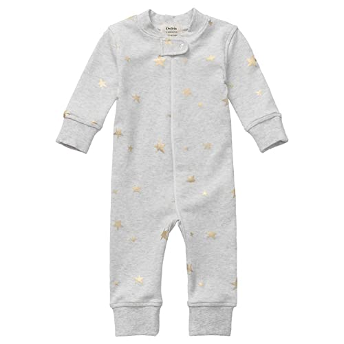 cbcabcbf7beb Owlivia Organic Cotton Baby Boy Girl Zip up Sleep N Play