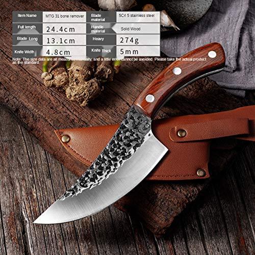 CUCHILLO DE CARGER CAJA DE CUERZA DE CORTE DE CORTÓN PEQUEÑA CAMISETA DE PIGUS DE PIGURO DE PIQUE DE PIQUE DE PECHO PEQUEÑO ESPECIAL Cuchillo para cortar carne para cortar verduras juego de cuchillos