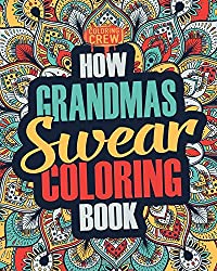 how grandmas swear coloring book