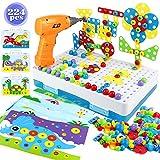 yoptote Juguetes Montessori Puzzles 3D Mosaicos Infantiles Juguetes Educativos...