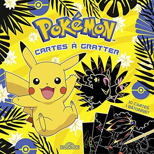Pokémon - Mes Cartes à gratter - Pikachu et ses amis - Pochette de 10 cartes à gratter - Dès 6 ans