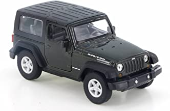 Welly Jeep Wrangler Rubicon, Green 42371H-D - 4.5