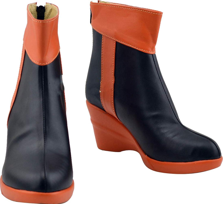 GSFDHDJS Cosplay Boots shoes for Guilty Crown Yuzuriha Inori Booties
