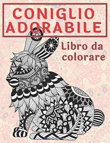 Coniglio adorabile - Libro da colorare