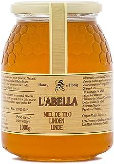 Lindenblütenhonig aus Spanien - beste Qualität - reines Naturprodukt - kaltgeschleudert - mild bis würzig - von der echten Lindenblüte - im Glas, Größe:1000 ml, Geschmack:Linde