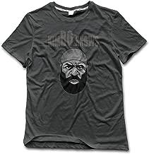 CHA Men's Kimbo Slice Portrait 100% Cotton T Shirt